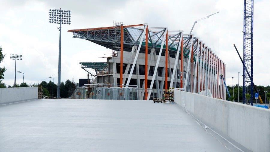 Historia budowy stadionu