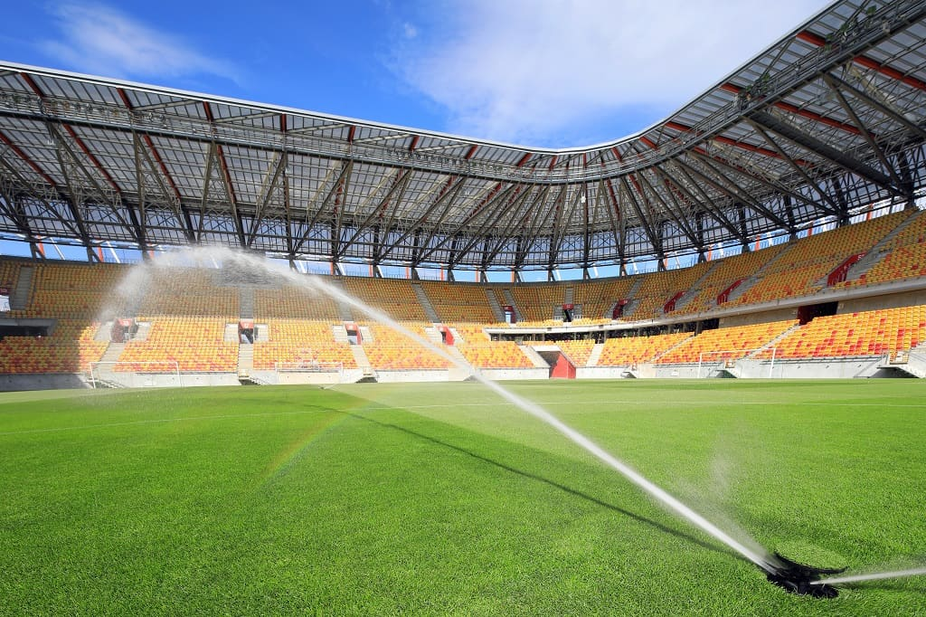 Arena rozgrywek piłkarskich