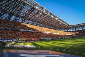 Stadion w Białymstoku z najlepszą murawą
