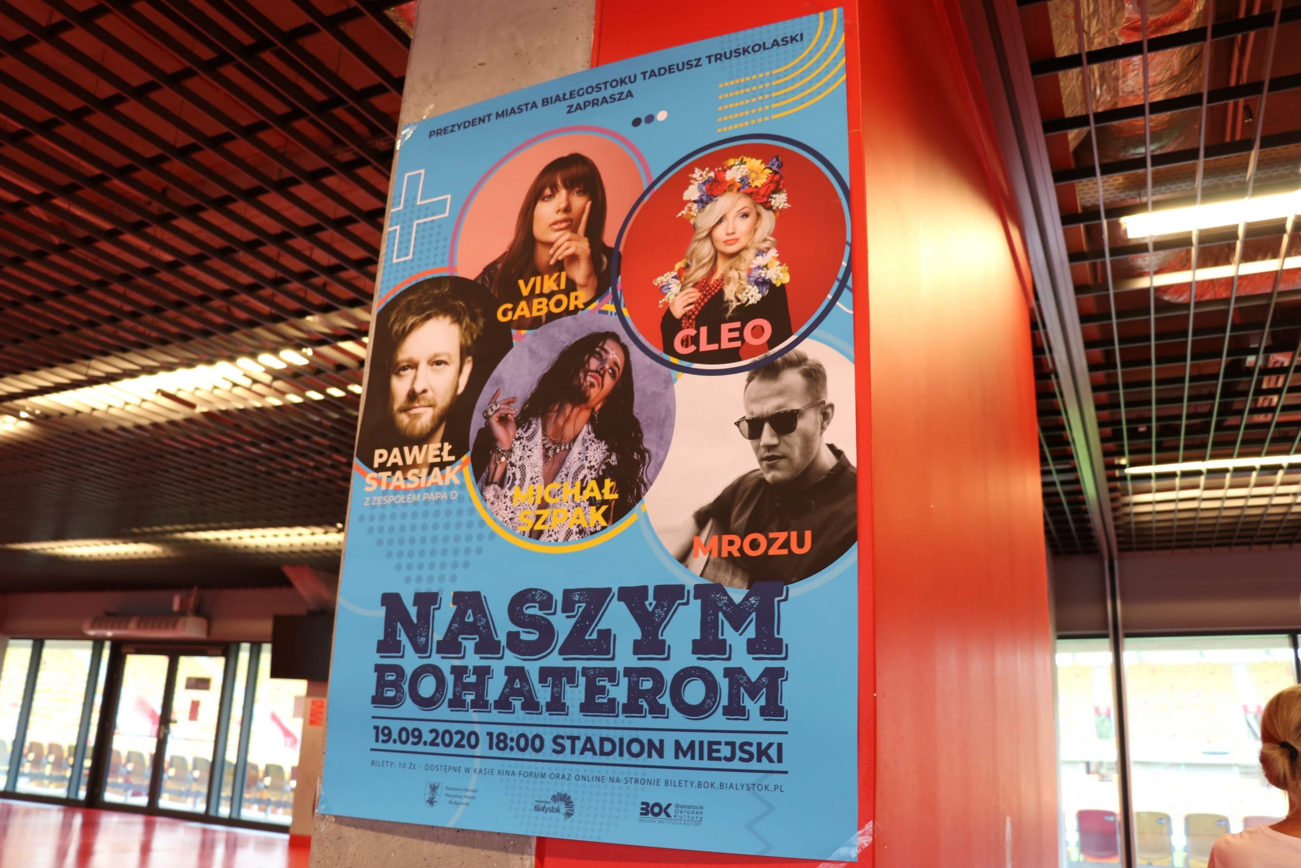"""Koncert """"Naszym Bohaterom"""" – 19.09 konferencja prasowa"""