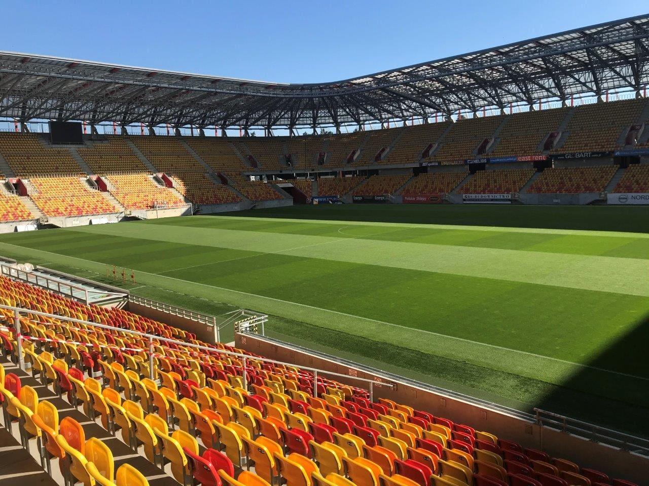 Stadion w Białymstoku z najlepszą murawą w Polsce!