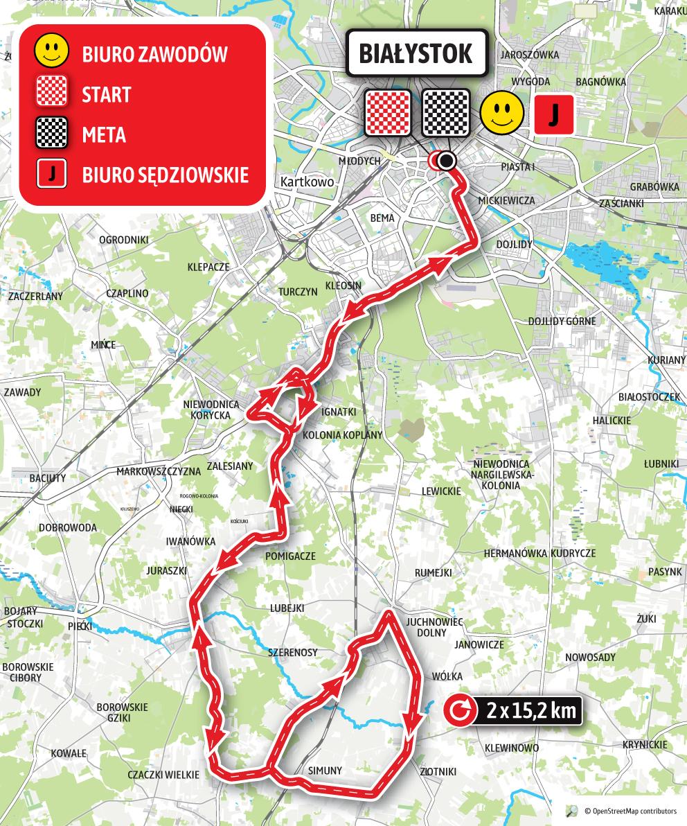 ORLEN Wyścigu Narodów Białystok <br>29-30.05.2021